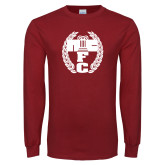 Cardinal Long Sleeve T Shirt-NICFC