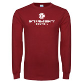 Cardinal Long Sleeve T Shirt-Primary Logo Centered