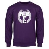 Purple Fleece Crew-NICFC