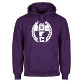 Purple Fleece Hoodie-NICFC