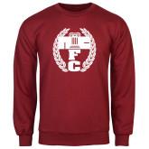 Cardinal Fleece Crew-NICFC