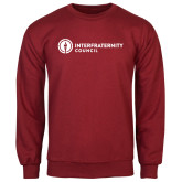 Cardinal Fleece Crew-Primary Logo Left