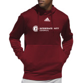 Adidas Cardinal Team Issue Hoodie-Primary Logo Left