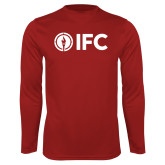 Performance Cardinal Longsleeve Shirt-IFC