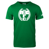 Adidas Kelly Green Logo T Shirt-NICFC