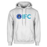 White Fleece Hoodie-IFC