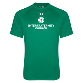 Under Armour Kelly Green Tech Tee-Primary Logo Centered