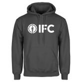 Charcoal Fleece Hoodie-IFC