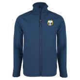 Navy Softshell Jacket-NICFC