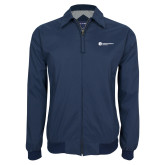 Navy Players Jacket-Primary Logo Left