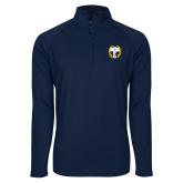 Sport Wick Stretch Navy 1/2 Zip Pullover-NICFC