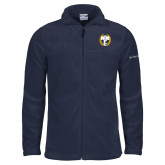 Columbia Full Zip Navy Fleece Jacket-NICFC