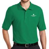 Kelly Green Easycare Pique Polo-Primary Logo Centered