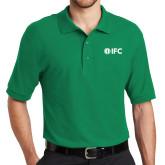 Kelly Green Easycare Pique Polo-IFC
