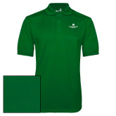 Kelly Green Dry Mesh Polo-Primary Logo Centered