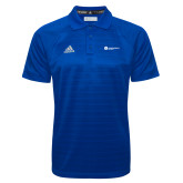 Adidas Climalite Royal Jacquard Select Polo-Primary Logo Left