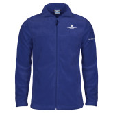 Columbia Full Zip Royal Fleece Jacket-Primary Logo Centered