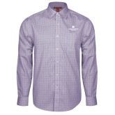 Red House Purple Plaid Long Sleeve Shirt-Primary Logo Centered