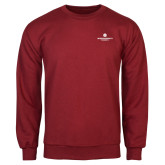 Cardinal Fleece Crew-Primary Logo Centered