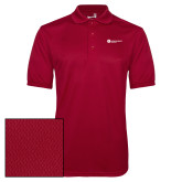 Cardinal Dry Mesh Polo-Primary Logo Left