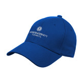 Royal Heavyweight Twill Pro Style Hat-Primary Logo Centered