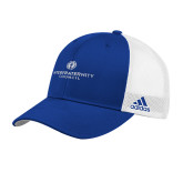 Adidas Royal Structured Adjustable Hat-Primary Logo Centered