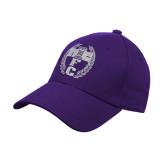Purple Heavyweight Twill Pro Style Hat-NICFC
