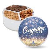 Deluxe Mix Congrats Tin-Primary Logo Centered