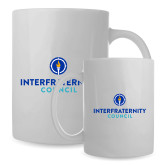 Full Color White Mug 15oz-Primary Logo Centered