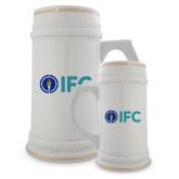 Full Color Decorative Ceramic Mug 22oz-IFC