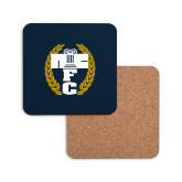 Hardboard Coaster w/Cork Backing-NICFC