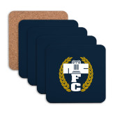Hardboard Coaster w/Cork Backing 4/set-NICFC