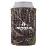 Collapsible Camo Can Holder-Primary Logo Centered