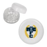 White Peppermint Plastic Jar-NICFC