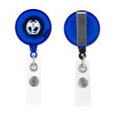 Blue Retractable Badge Holder-NICFC