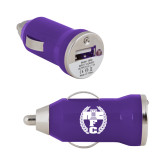 On the Go Purple Car Charger-NICFC