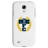 White Samsung Galaxy S4 Cover-NICFC