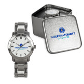 Mens Stainless Steel Fashion Watch-Primary Logo Centered