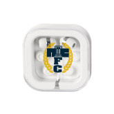 Ear Buds in Clear Square Case-NICFC