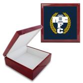 Red Mahogany Accessory Box With 6 x 6 Tile-NICFC