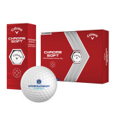 Callaway Chrome Soft Golf Balls 12/pkg-Primary Logo Centered