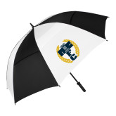 62 Inch Black/White Vented Umbrella-NICFC