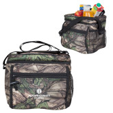 Big Buck Camo Junior Sport Cooler-Primary Logo Centered