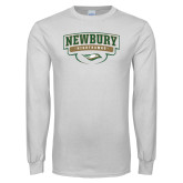 White Long Sleeve T Shirt-Newbury Nighthawks