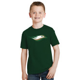 Youth Dark Green T Shirt-Nighthawk