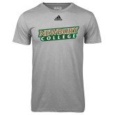 Adidas Climalite Sport Grey Ultimate Performance Tee-Newbury College