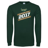 Dark Green Long Sleeve T Shirt-Class Of Design, Personalized year