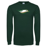 Dark Green Long Sleeve T Shirt-Nighthawk