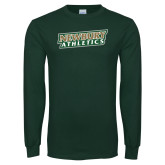 Dark Green Long Sleeve T Shirt-Newbury Athletics