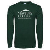 Dark Green Long Sleeve T Shirt-Institutional Mark